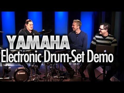 Yamaha DTX950K Electronic Drum-Set Demo - DRUMEO