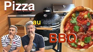 Pizza au BBQ Monolith