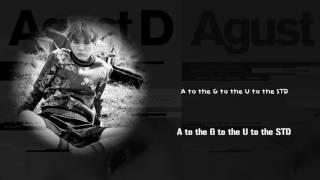 Baixar BTS Suga (AGUST D) - AGUST D [Lyrics Han|Rom|Eng]