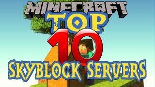 ✔️TOP 10 MINECRAFT SKYBLOCK SERVERS