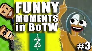 FUNNY MOMENTS in Breath of the Wild! Funny Ragdoll Deaths | Breath of the Wild | The Basement