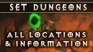 Diablo 3 - Set Dungeon Locations (Patch 2.4)
