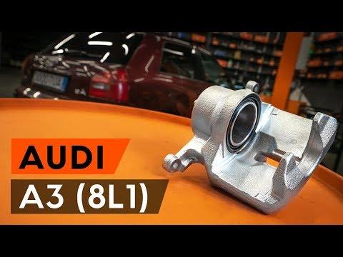 Kako zamenjati zadnjezavorne klešče na AUDI A3 1 (8L1) [VODIČ AUTODOC]