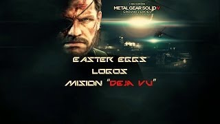 Easter Eggs-logos Metal Gear Solid V: Ground Zeroes-mission Deja Vu