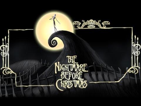 NIGHTMARE BEFORE CHRISTMAS - Oogie Boogie's Song (KARAOKE clip) - Instrumental, lyrics on screen