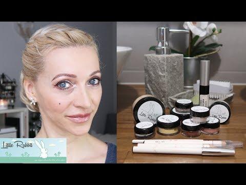 Honest Product Review & GRWM   VEGAN   Little Rabbit Cosmetics
