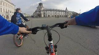Покатушки на велосипеде . Казань