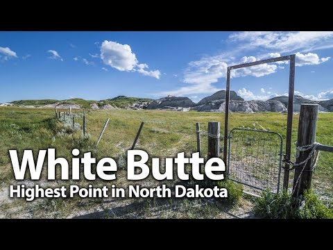 White Butte: North Dakota's Highest Point