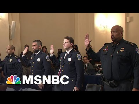 Capitol Police Officers Deliver 'Gut-Wrenching' Testimony In 1/6 Hearing