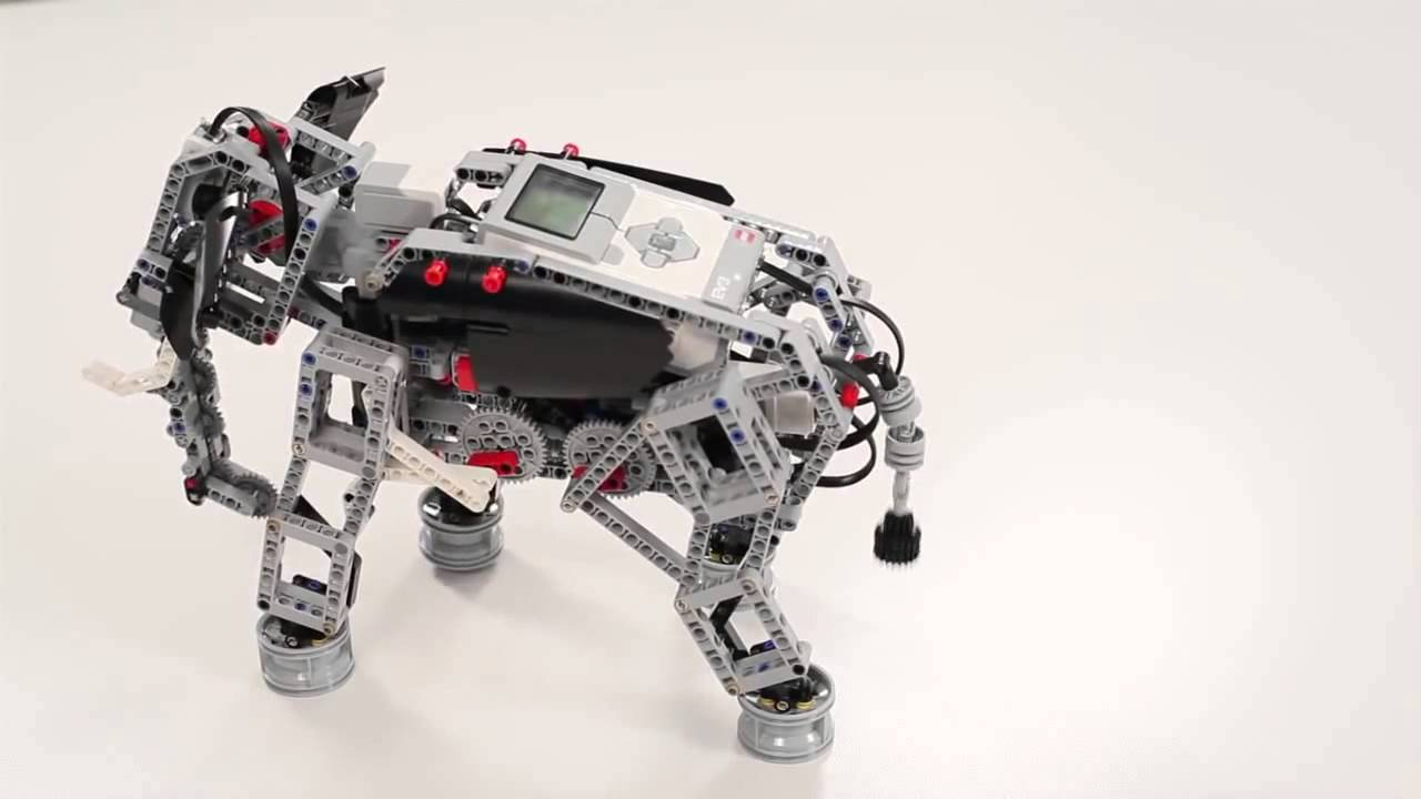 LEGO® MINDSTORMS® Education EV3 Elephant - YouTube
