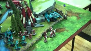 Blood Ravens vs Eldar 40K full Battle Report