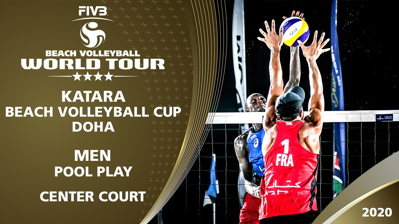Pool Play - Center Court | Full Day | Part 2 | 4* Doha (QAT) - 2020 FIVB Beach Volleyball World Tour