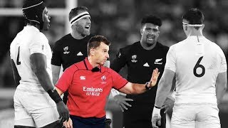Rugby Referees BEST Player Interactions of the Decade! | 20102019
