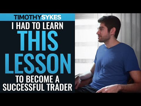 """I Had to Learn THIS LESSON to Be Successful As a Trader"" (Tim Grittani)"