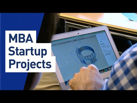 MBA Startup Projects inspire entrepreneurs and participants