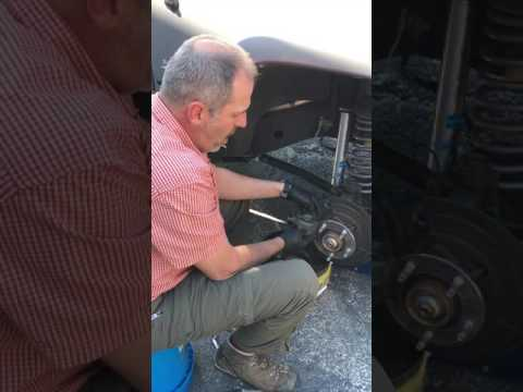 Best way to replace wheel studs on a Jeep Wrangler or other