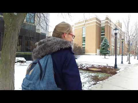 Winter Stroll on Campus | Marquette University