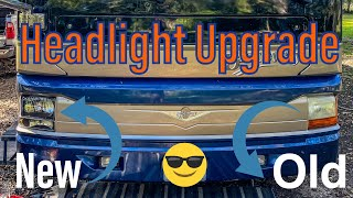 How to Upgrade Your RV Headlights! // Texas Young Guns
