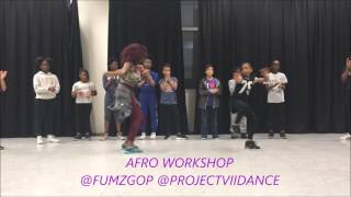 5 year old dance to Psquare -  bank Alert (Fumzgop Choreo)