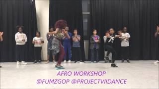 5 year old dance to Psquare -  bank Alert (Fumzgop Choreo)