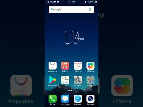 How to remove download manger from status bar in vivo v7+