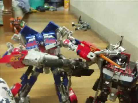 Transformers Prime Optimus Prime Vs Nemesis Prime