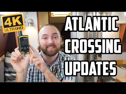 Sail Life - Live updates during the Atlantic crossing (how to get them)