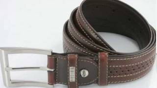 Genuine Leather Belt By Orosilber Thumbnail
