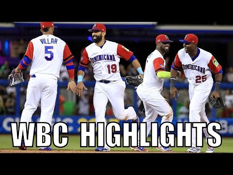 MLB | 2017 Team Dominican Republic WBC Highlights ᴴᴰ