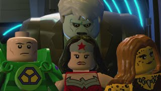 LEGO Batman 3 - 100% Guide #6 - The Lantern Menace (All Collectibles - Minikits, Red Brick,etc)