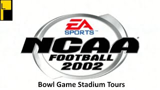 NCAA Football 2002 Fictional and Bowl Game Stadiums (4K60FPS)