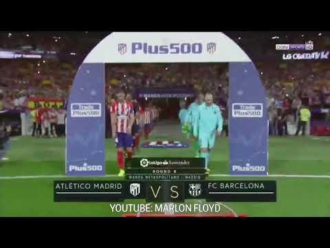 Atletico Madrid vc Barcelona 1- 1 All goals & Highlight (10/14/2017)