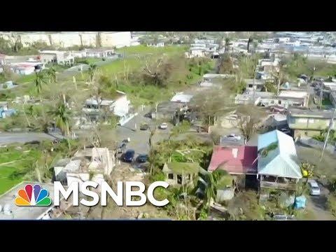 Puerto Rico Gov. Orders Recount Of Hurricane Deaths | Velshi & Ruhle | MSNBC