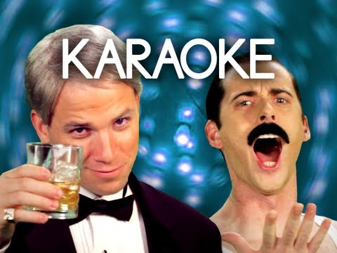 [KARAOKE ♫] Frank Sinatra vs Freddie Mercury. Epic Rap Battles of History. [INSTRUMENTAL]