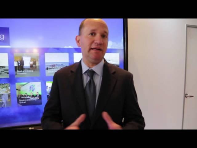 Entrevista Boeing en FIDAE 2016 @FIDAEGROUP