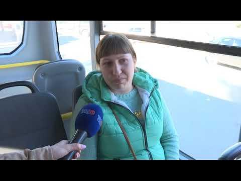 Новые автобусы на маршрутах Рязани