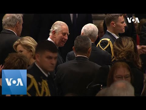 World Leaders Bid Farewell to President George HW Bush