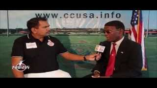 Lawrence Rowe Interview at US OPEN 2014