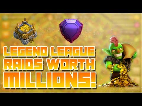 Clash of Clans - Legend League Raids Worth MILLIONS!