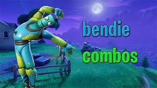 Fortnite Bendie Skin Combos