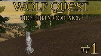 Wolf Quest 🐺 Learning To Hunt - Episode #1