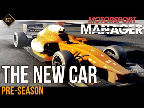 Motorsport Manager Bulldozer Power Season 3 : pre-season