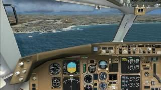Fsx Mallorca X landing
