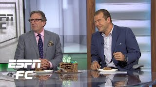 ESPN FC celebrates Paul Mariner's 66th birthday with 4-layer chocolate cake | Extra Time