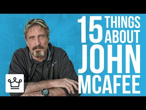 15 Things You Didn't Know About John McAfee