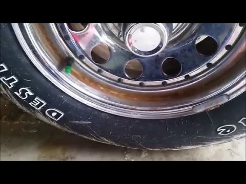 How to Remove rust on rims for under 5$!