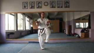 Uechi-ryu karate do Hojo undo technique