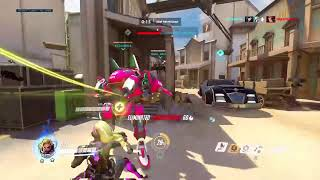 Overwatch Symmetra 3rd Person Game play