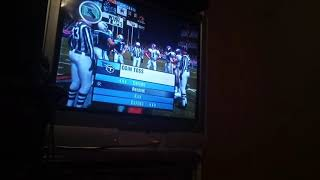 Playing football (raging)