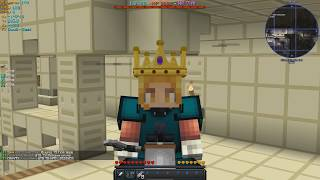 RANK GIVEAWAY AND IRON Vs. DIAMOND?! -Cosmic Prisons- [Sovereign Map 4]